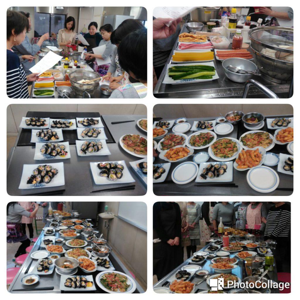 韓国語教室、LAC語学教室お料理教室