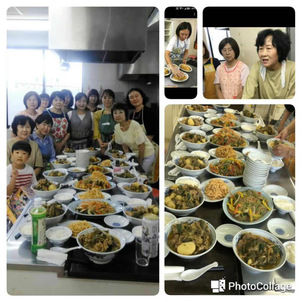 韓国語教室、LAC語学教室 料理教室